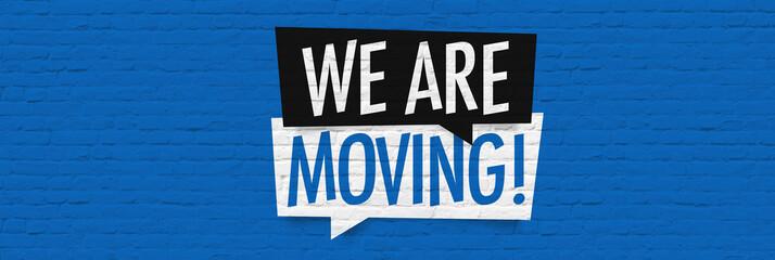 We are moving Fotoväggar