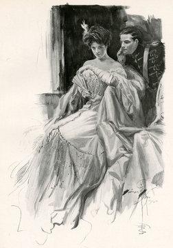 Flirting Man 1906