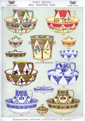 Toilet Services, Real Wedgwood Ware, Plate 50
