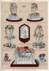 Table Ornaments and a Wall Mirror, Plate 95