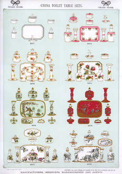 China Toilet Table Sets, Plate 58
