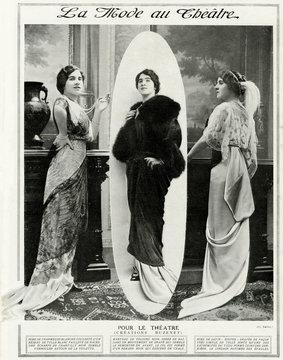 Fashion at the Threatre 1912