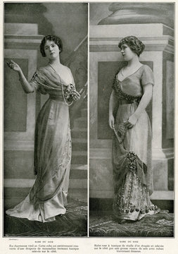 Evening Gowns 1910