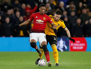 FA Cup Quarter Final - Wolverhampton Wanderers v Manchester United