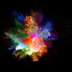 Virtual Color Splash Explosion