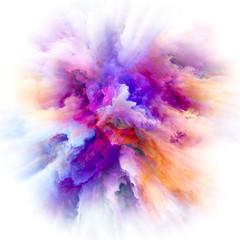 Emergence of Color Splash Explosion