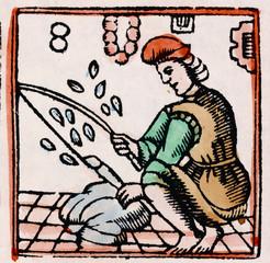 17th Century Feather Plucker
