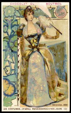 Costume Women Paris 1889