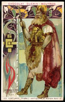 Costume Men Saxon Chief