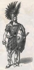9th Century Scot Warrior