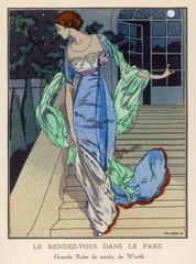 Evening Dress Worth 1912