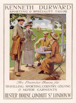 Golfing Clothes 1912