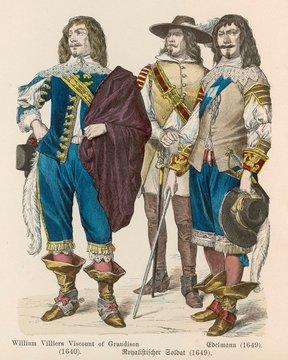 English Royalists 1640 9