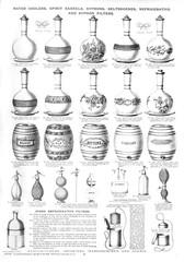 Water Coolers, Spirit Barrels, Etc, Plate 41