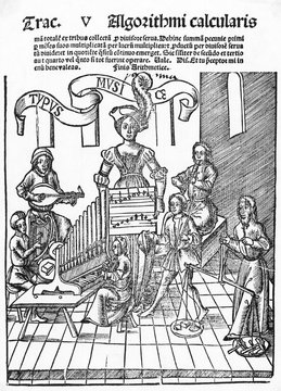 Title Page of a Music Book, 1517