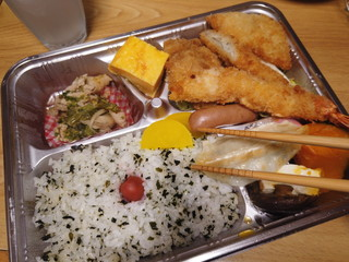 eat bento - takeaway at lunch time