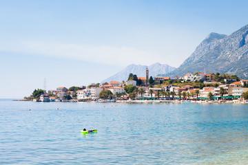 Gradac, Dalmatia, Croatia - Relaxing in the Mediterranean Sea at Gradac