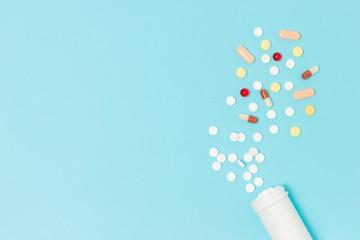 Pharmaceutical medicine pills