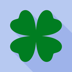 Clover flat icon