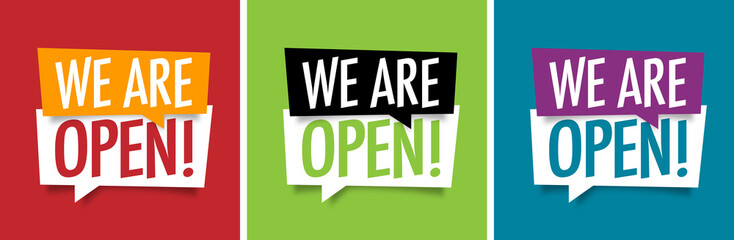 We are open ! Fotomurales
