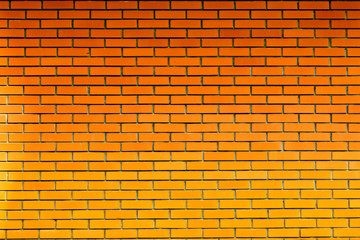 Red brick wall abstracted