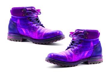 une paire de chaussures de marche