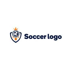 Soccer teamlogo template