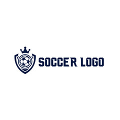 Soccer logo, sports logo, sports badge