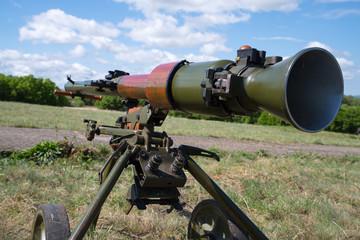 anti tank recoilless gun projectile of USSR