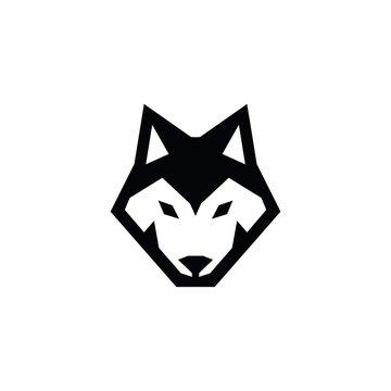WOLF HEAD ICON LOGO