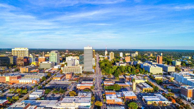 Columbia South Carolina Skyline SC Aerial