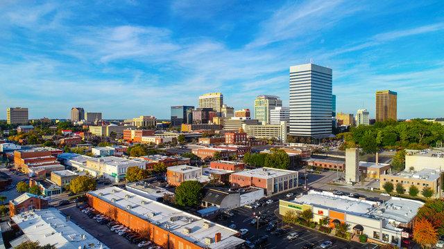 Downtown Columbia, South Carolina, USA Skyline Panorama