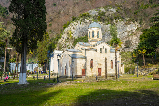 Temple of St. Simon the Cananite in New Athos in Abkhazia