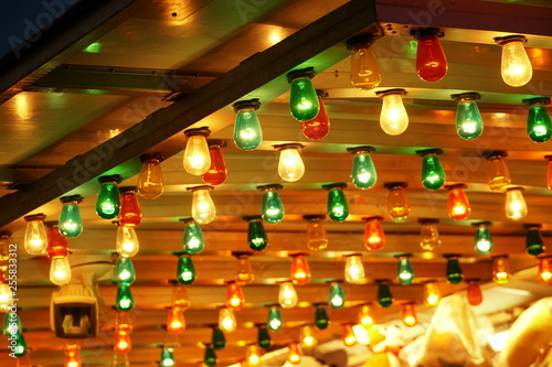 Night Carnival Lights 01 Stock Photo And Royalty Free