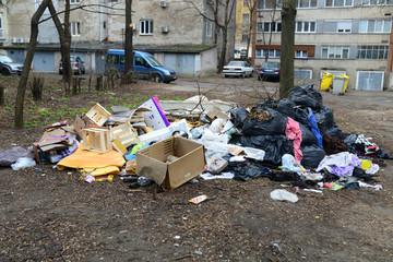 urban trash pollution