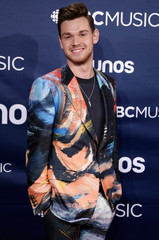 Blake Pouliot arrives at the 2019 Juno Awards in London, Ontario, Canada