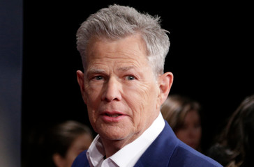David Foster arrives at the 2019 Juno Awards in London, Ontario, Canada