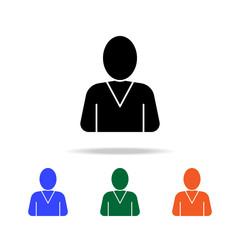 avatar icon. Elements of simple web icon in multi color. Premium quality graphic design icon. Simple icon for websites, web design, mobile app, info graphics