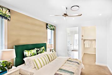 Luxury looking bed room including facilities