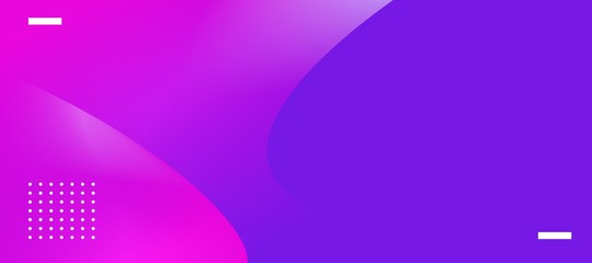 modern banner abstract background color