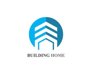 home buildings logo and symbols icons