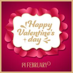 Luxury Valentine's day card