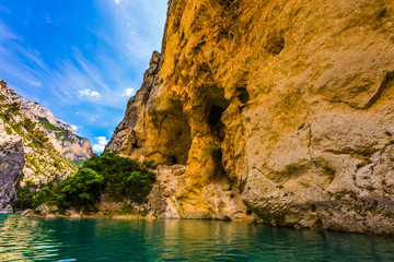 The Verdon Canyon in the Provence Alps