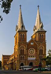 Notre-Dame Cathedral Basilica of Saigon Vietnam