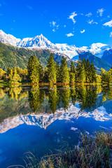 Mountain resort of Chamonix