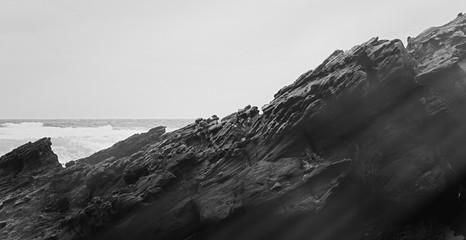 Atlantic ocean coast scenery, fine art
