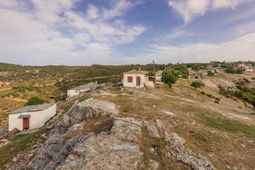 Kastro village, Greece