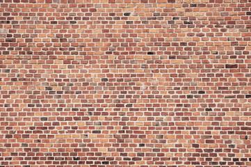 In de dag Baksteen muur old red brick wall texture