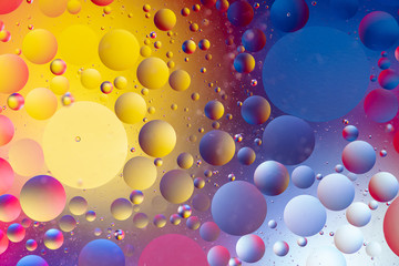 abstract background with bubbles