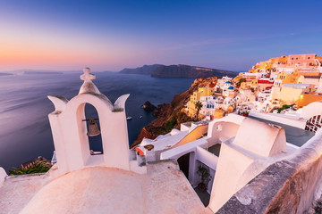 Fototapete - Santorini, Greece. Oia village.